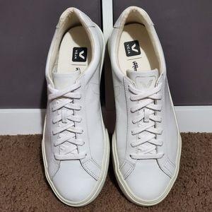 Veja Madewell Esplar Leather Sneakers Extra white